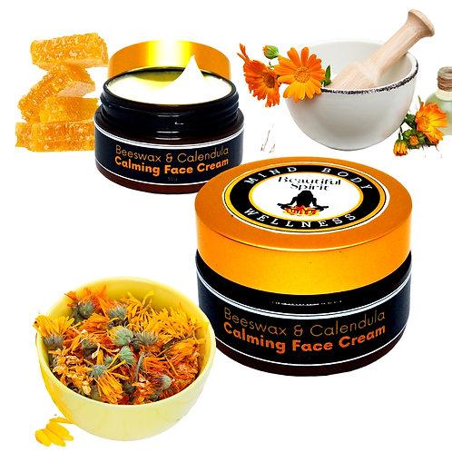 Beeswax & Calendula Calming Face Cream