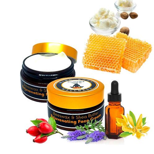 Beeswax & Shea Butter Rejuvenating Face Cream