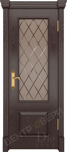 Цезарь-1 Англия - дверь межкомнатная из натурального шпона ТМ DioDoor (ДИОдор) купить в Саратове по цене производителя купить
