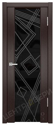 Триумф-3 Кубы - дверь межкомнатная из натурального шпона ТМ DioDoor (ДИОдор) купить в Саратове по цене производителя