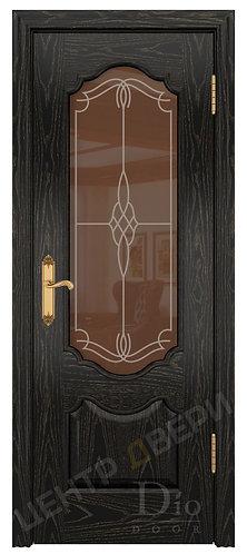 Каролина Корено - дверь межкомнатная из натурального шпона ТМ DioDoor (ДИОдор) купить в Саратове по цене производителя