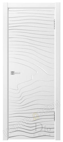 Гринвуд-3 патина серебро - дверь межкомнатная с покрытием эмаль ТМ DioDoor (ДИОдор) купить в Саратове по цене производителя