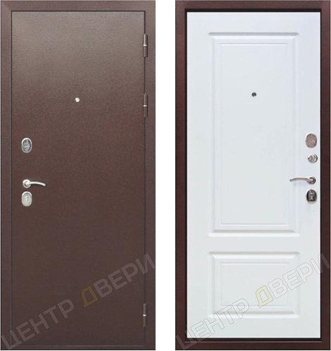 Роял-2 белый ясень - дверь входная металлическая, купить по цене производителя, Центр Двери