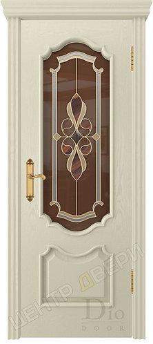 Каролина Визалия - дверь межкомнатная из натурального шпона ТМ DioDoor (ДИОдор) купить в Саратове по цене производителя