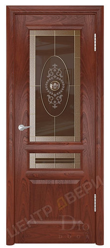 Онтарио-2 Мемфис - дверь межкомнатная из натурального шпона ТМ DioDoor (ДИОдор) купить в Саратове по цене производителя