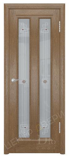 Тесей Ромб - дверь межкомнатная из натурального шпона ТМ DioDoor (ДИОдор) купить в Саратове по цене производителя