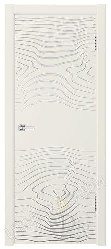 Гринвуд-4 патина серебро - дверь межкомнатная с покрытием эмаль ТМ DioDoor (ДИОдор) купить в Саратове по цене производителя