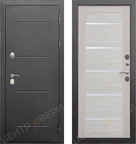 Изотерм-С лиственница бежевая, дверь входная металлическая, купить по цене производителя в Саратове