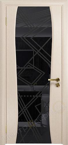 Портелло-2 Куб - дверь межкомнатная из натурального шпона ТМ DioDoor (ДИОдор) купить в Саратове по цене производителя