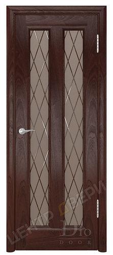 Тесей Англия - дверь межкомнатная из натурального шпона ТМ DioDoor (ДИОдор) купить в Саратове по цене производителя