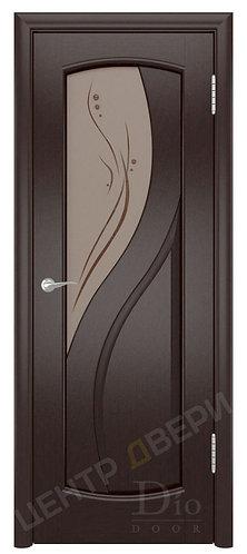Диона-1 Капля - дверь межкомнатная из натурального шпона ТМ DioDoor (ДИОдор) купить в Саратове по цене производителя