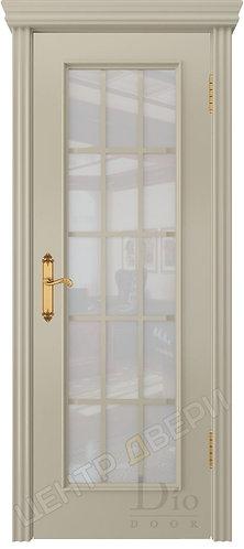 Криста-2 белое - дверь межкомнатная из натурального шпона ТМ DioDoor (ДИОдор) купить в Саратове по   цене производителя