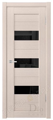 Техно-3 лакобель черное - дверь межкомнатная из натурального шпона ТМ DioDoor (ДИОдор) купить в Саратове по цене производител