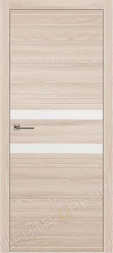 Новелла-2 лакобель белое - дверь межкомнатная с антивандальным покрытием экошпон от производителя купить в Саратове