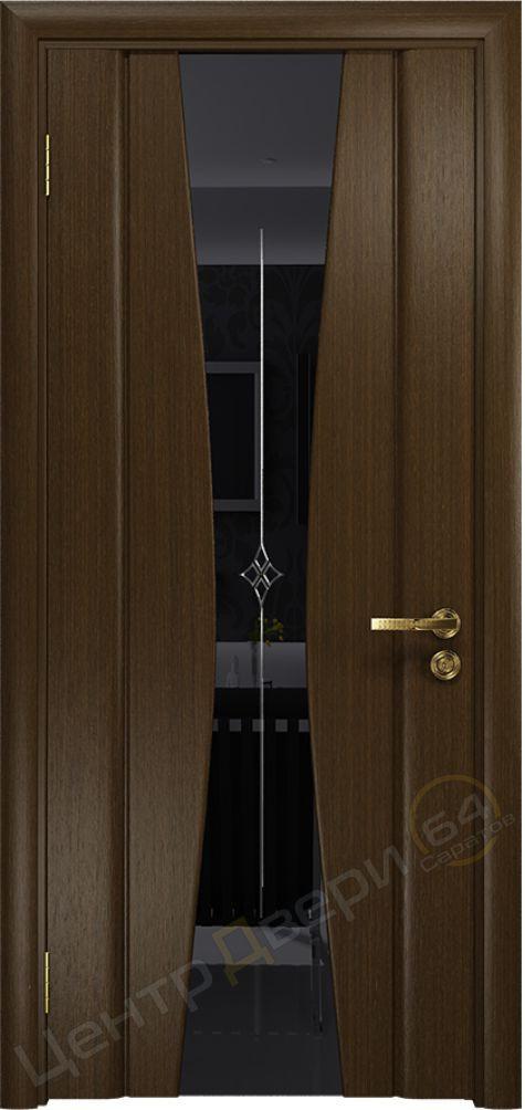 Соната-2, двери ДиоДор, двери DioDOOR, двери шпон, двери шпонированные межкомнатные, шпонированные двери, Двери Саратов
