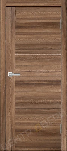 Лестер-1 орех - дверь межкомнатная с антивандальным покрытием экошпон от производителя Верда (Verda) купить в Саратове