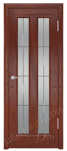 Тесей Решетка - дверь межкомнатная из натурального шпона ТМ DioDoor (ДИОдор) купить в Саратове по цене производителя