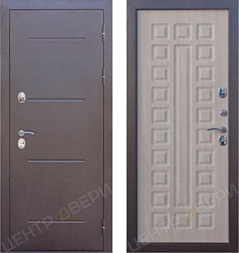 Изотерм лиственница мокко - дверь входная металлическая, купить по цене производителя, Центр Двери