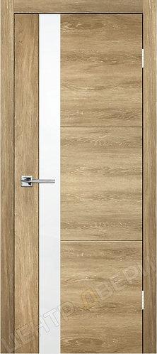 Лестер-2 дуб натуральный - дверь межкомнатная с антивандальным покрытием экошпон от производителя купить в Саратове
