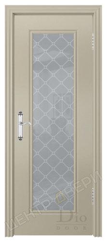 Контур-5 Кристалл - дверь межкомнатная с покрытием эмаль серия неоклассика ТМ DioDoor (ДИОдор) купить в Саратове
