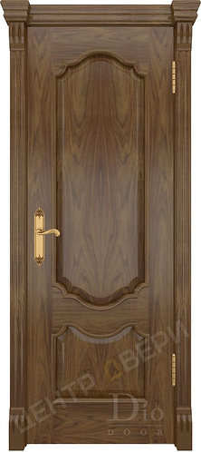 Каролина - дверь межкомнатная из натурального шпона ТМ DioDoor (ДИОдор) купить в Саратове по цене производителя