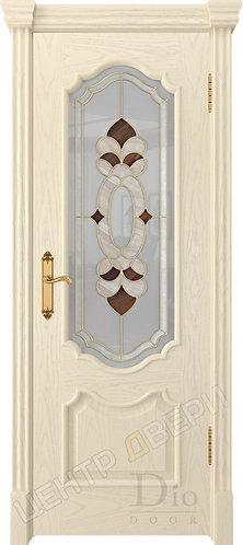Каролина Джорджия - дверь межкомнатная из натурального шпона ТМ DioDoor (ДИОдор) купить в Саратове по цене производителя