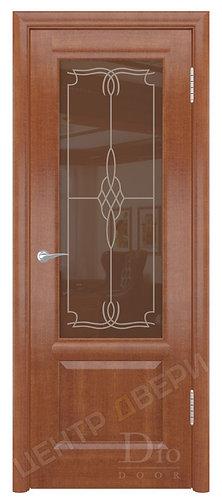 Онтарио Корено - дверь межкомнатная из натурального шпона ТМ DioDoor (ДИОдор) купить в Саратове по цене производителя