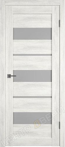 X-23 царговая дверь межкомнатная с покрытием экошпон, серия Atum, купить по цене производителя в Саратове