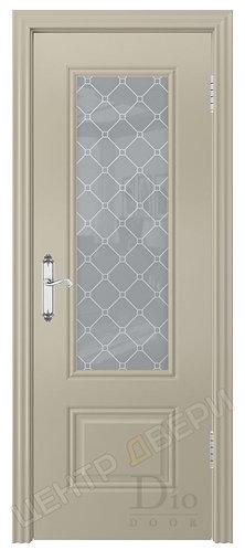 Контур-1 Кристалл - дверь межкомнатная с покрытием эмаль серия неоклассика ТМ DioDoor (ДИОдор) купить в Саратове