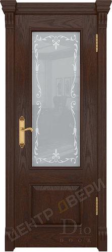 Цезарь-1 Версаль - дверь межкомнатная из натурального шпона ТМ DioDoor (ДИОдор) купить в Саратове по цене производителя купит
