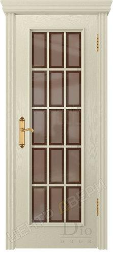 Криста-2 Рамка бронза - дверь межкомнатная из натурального шпона ТМ DioDoor (ДИОдор) купить в Саратове по цене производителя