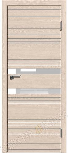 Новелла-2 лиственница натуральная, межкомнатная дверь, экошпон, Центр Двери, купить двери в Саратове