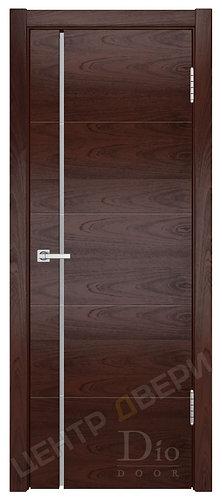 Квадро-1 Фриз триплекс белый - дверь межкомнатная из натурального шпона ТМ DioDoor (ДИОдор) купить в Саратове