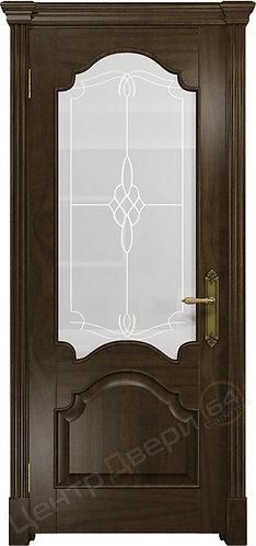 Валенсия-1 Корено - дверь межкомнатная из натурального шпона ТМ DioDoor (ДИОдор) купить в Саратове по цене производителя