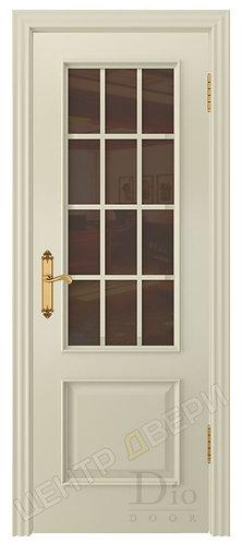 Криста-1 Сатин бронза - дверь межкомнатная из натурального шпона ТМ DioDoor (ДИОдор) купить в Саратове по цене производителя