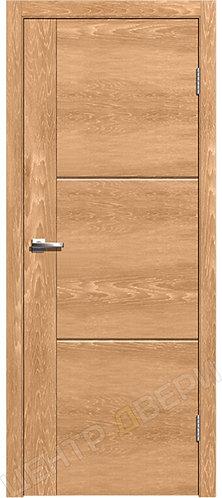 Лестер-1 дуб натуральный, межкомнатная дверь, экошпон, Центр Двери, купить двери в Саратове