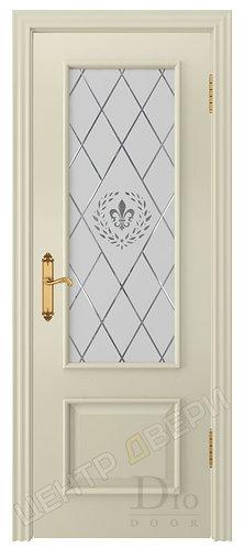 Цезарь-1 Геральдика - дверь межкомнатная из натурального шпона ТМ DioDoor (ДИОдор) купить в Саратове по цене производителя