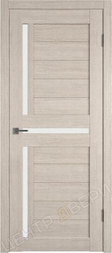 X-16 царговая дверь межкомнатная с покрытием экошпон, серия Atum, купить по цене производителя в Саратове