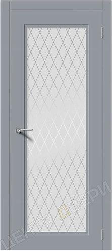 Рондо-Н Кристалл - двери Верда эмаль, двери эмаль купить, двери неоклассика каталог, эмаль серия неоклассика купить