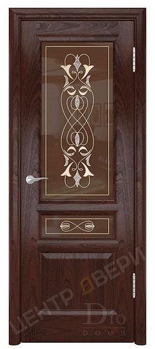 Онтарио-2 Моника - дверь межкомнатная из натурального шпона ТМ DioDoor (ДИОдор) купить в Саратове по цене производителя