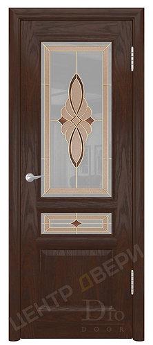 Онтарио-2 Стелла - дверь межкомнатная из натурального шпона ТМ DioDoor (ДИОдор) купить в Саратове по цене производителя