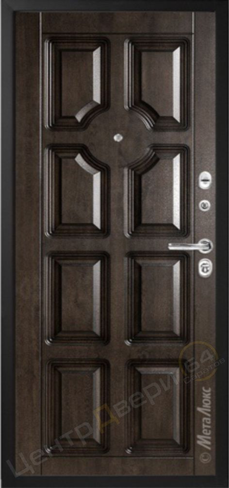 М707/2, МетаЛюкс, двери входные Саратов, двери входные металлические, входные двери Саратов, металлические двери Саратов