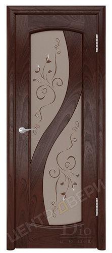 Диона-2 Лилия - дверь межкомнатная из натурального шпона ТМ DioDoor (ДИОдор) купить в Саратове по цене производителя