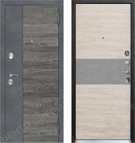 Даллас-1 дуб винтаж - дверь входная металлическая, купить по цене производителя, Центр Двери
