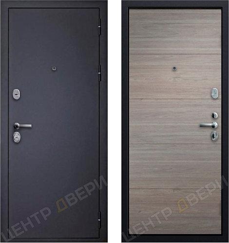 SD Prof Шагрень Черная, дверь входная металлическая купить в Саратове