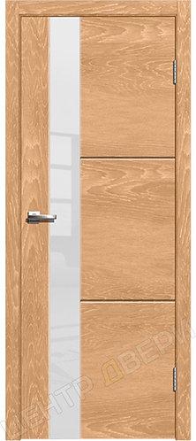 Лестер-2 дуб натуральный, межкомнатная дверь, экошпон, Центр Двери, купить двери в Саратове