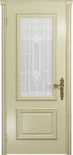 Версаль-1 Кардинал - дверь межкомнатная из натурального шпона ТМ DioDoor (ДИОдор) купить в Саратове по цене производителя