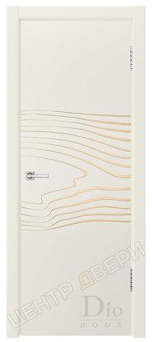 Гринвуд-2 патина золото - дверь межкомнатная с покрытием эмаль ТМ DioDoor (ДИОдор) купить в Саратове по цене производителя