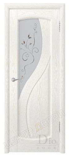 Диона-1 Лилия - дверь межкомнатная из натурального шпона ТМ DioDoor (ДИОдор) купить в Саратове по цене производителя