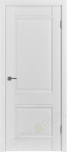 E-C2 царговая дверь межкомнатная с покрытием экошпон, серия Emalex, купить по цене производителя в Саратове